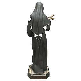 Statua Santa Rita vetroresina 130 cm colorata s5
