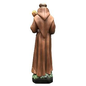 Statua Sant'Antonio 25 cm resina colorata s5