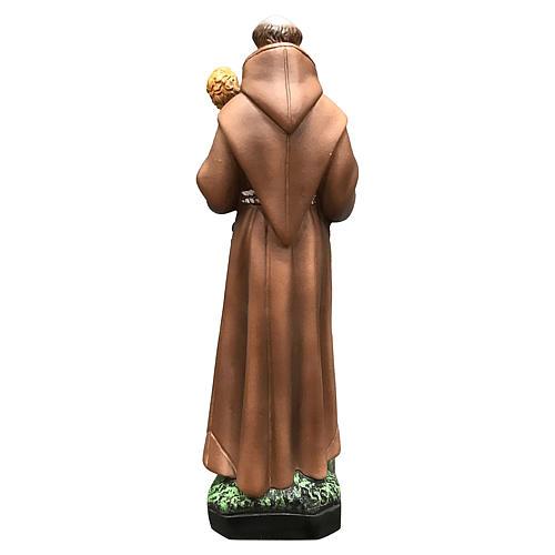 Statua Sant'Antonio 25 cm resina colorata 5