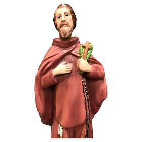 Statua San Ciro 20 cm resina colorata s2