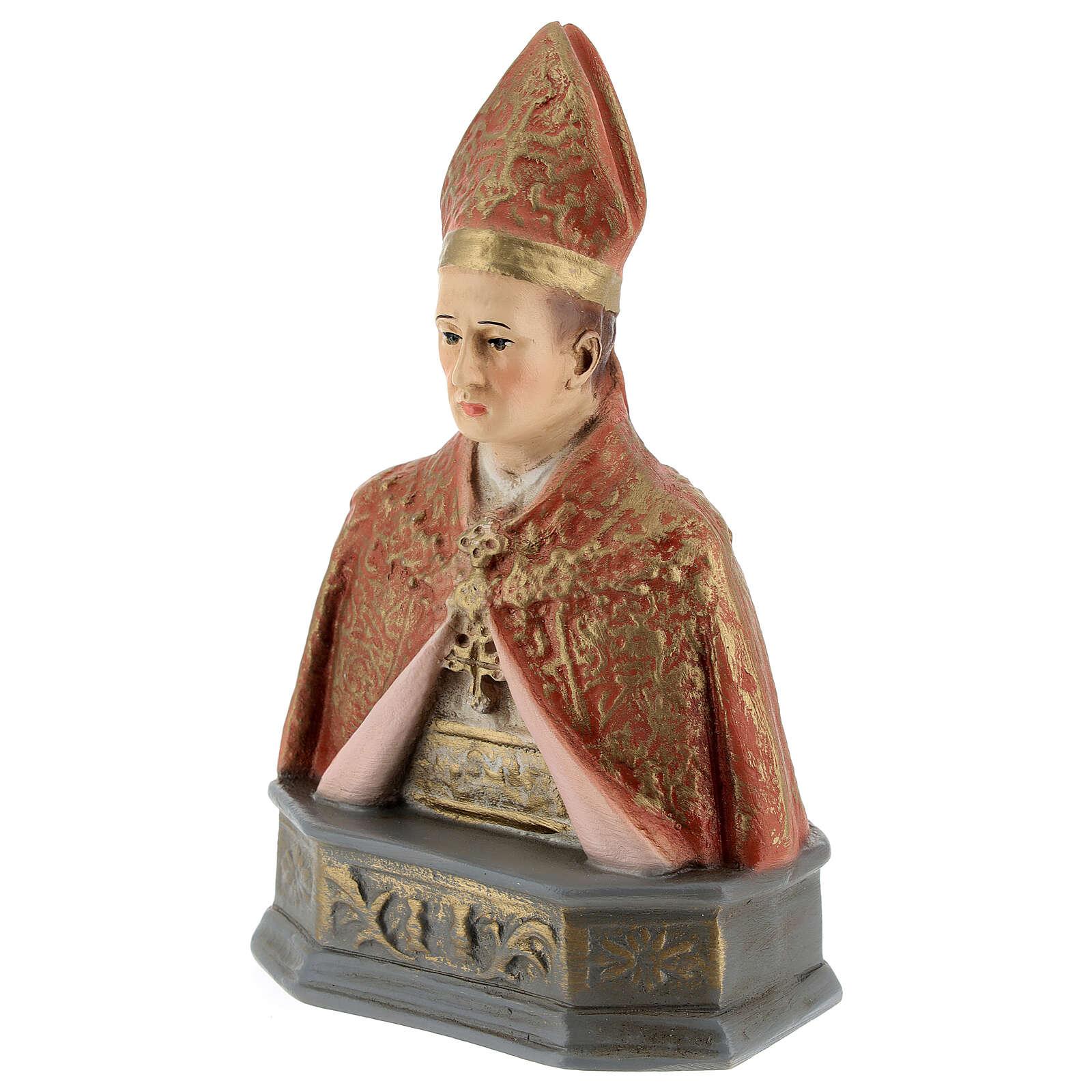 Half-bust of St. Januarius 15 cm 4