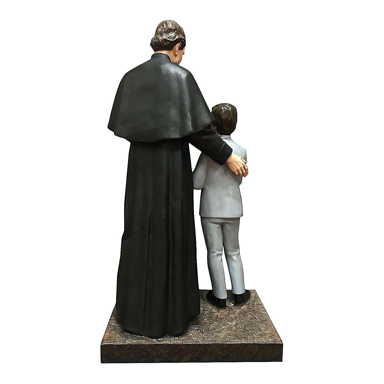 Statue of St. John Bosco with Domenic Savio 170 cm 4