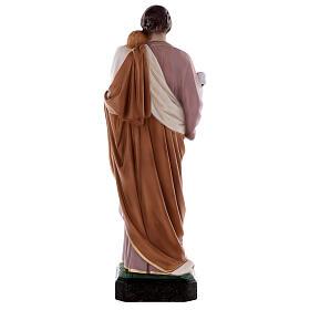Estatua San José 50 cm fibra de vidrio coloreada s8