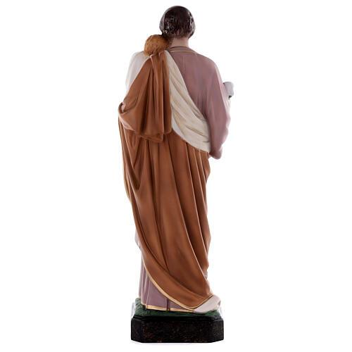 Estatua San José 50 cm fibra de vidrio coloreada 8