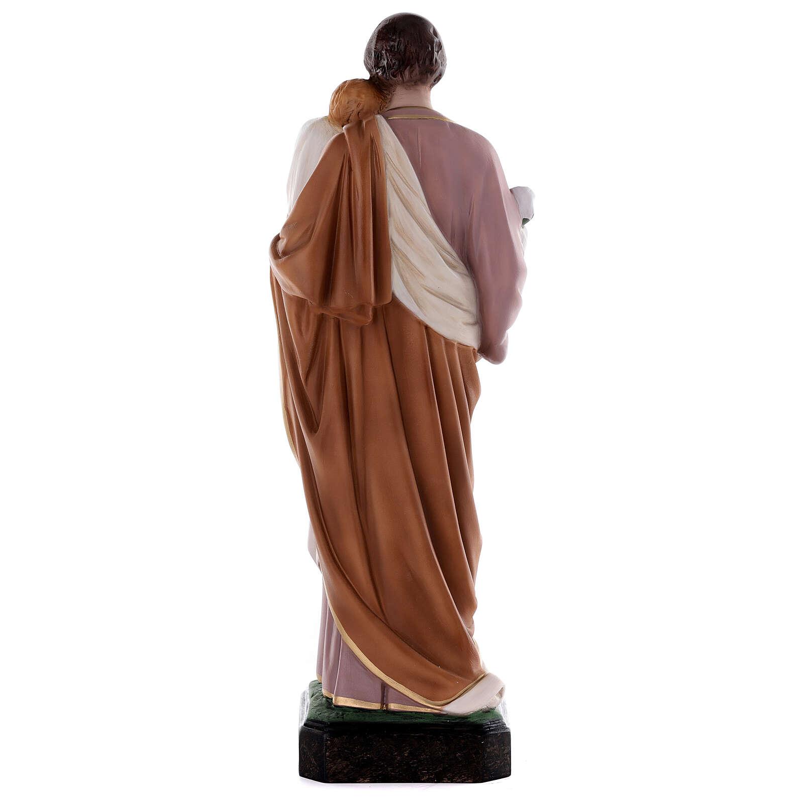 St Joseph statue, 50 cm colored fiberglass 4