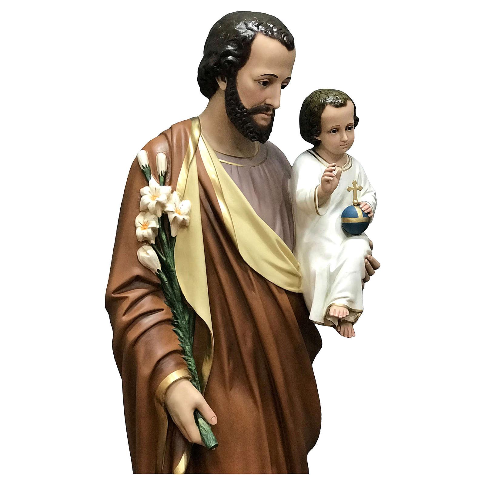 Statue of St. Joseph 160 cm 4