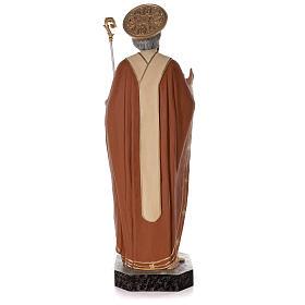 Statua San Nicola di Bari 85 cm vetroresina colorata s7