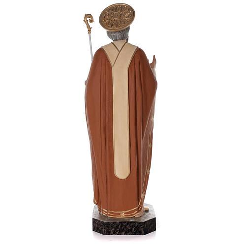 Statua San Nicola di Bari 85 cm vetroresina colorata 7