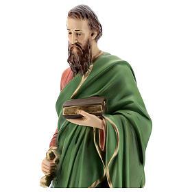 Statue, Heiliger Paulus, 40 cm, Kunstharz, farbig gefasst s2