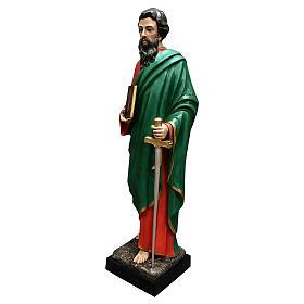 Statua San Paolo vetroresina 160 cm colorata s3