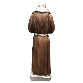 Statua San Pio 26 cm resina colorata s4