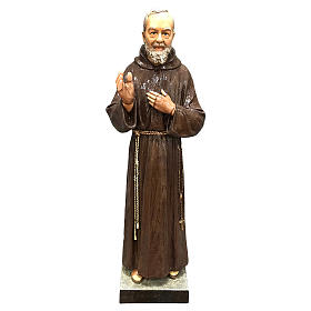 Statue of St. Pio 82 cm FOR EXTERNAL USE s1