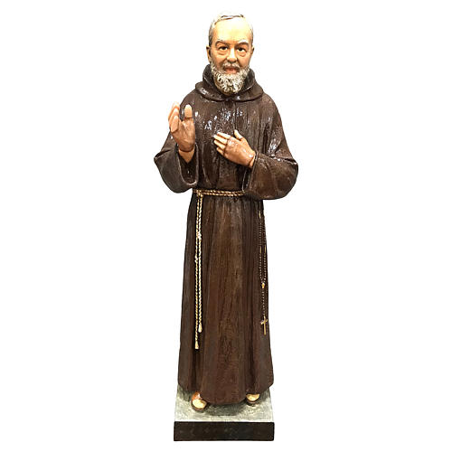 Statue of St. Pio 82 cm FOR EXTERNAL USE 1