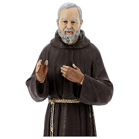 Statua San Pio 82 cm vetroresina colorata s4