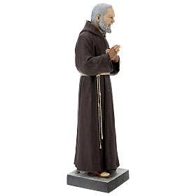 Statua San Pio 82 cm vetroresina colorata s5