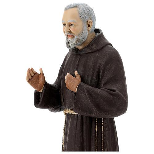 Statua San Pio 82 cm vetroresina colorata 2