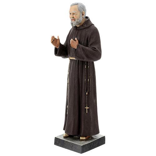 Statua San Pio 82 cm vetroresina colorata 3