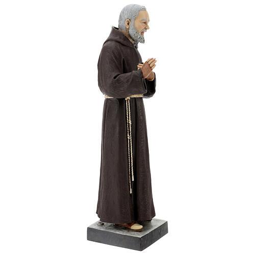 Statua San Pio 82 cm vetroresina colorata 5
