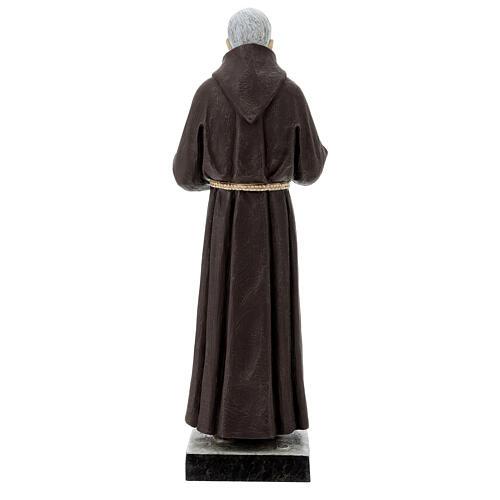 Statua San Pio 82 cm vetroresina colorata 6