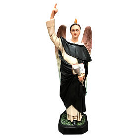 St. Vincent Ferrer statue, 50 cm colored resin s1