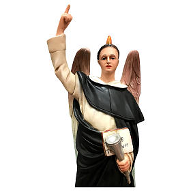St. Vincent Ferrer statue, 50 cm colored resin s2