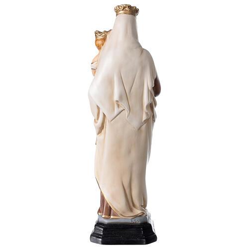 Statue Notre-Dame du Mont-Carmel résine peinte 34 cm 5