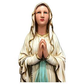 Statue Notre-Dame de Lourdes 40 cm résine peinte s2