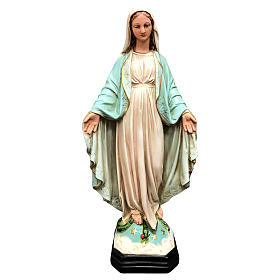 Statua Madonna Miracolosa 40 cm resina dipinta s1