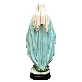 Statua Madonna Miracolosa 40 cm resina dipinta s5