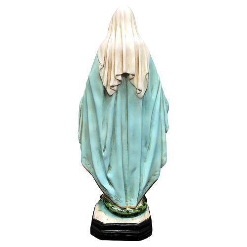 Statua Madonna Miracolosa 40 cm resina dipinta 5