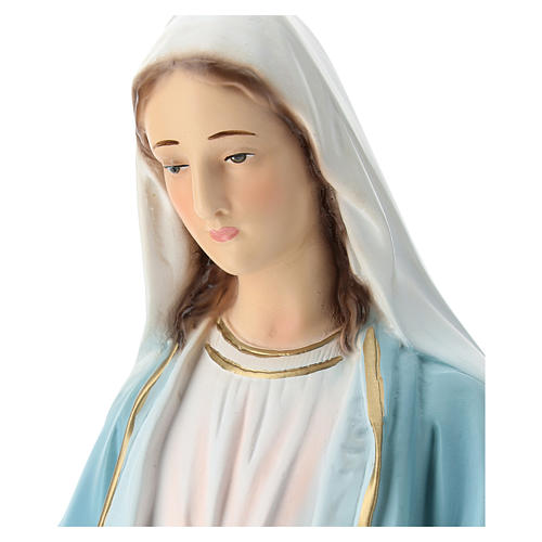 Statue of Our Lady of Miracles in painted fibreglass 50 cm 2