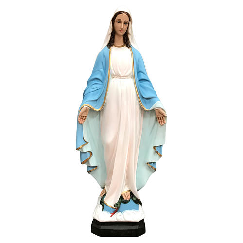 Our Lady of Miracles statue 60 cm painted fiberglass 1