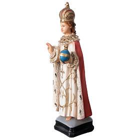 Statue Enfant Jésus de Prague résine 40 cm peinte s3