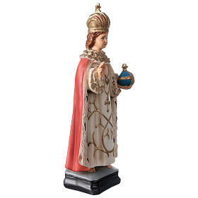 Statue Enfant Jésus de Prague résine 40 cm peinte s4