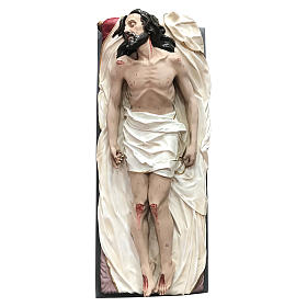 Statua Cristo morto vetroresina 165 cm dipinta s3
