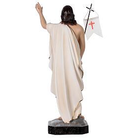 Statue Christ ressuscité 50 cm fibre de verre peinte s6