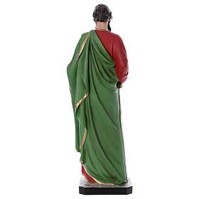 Statue Saint Paul 110 cm fibre de verre colorée s5