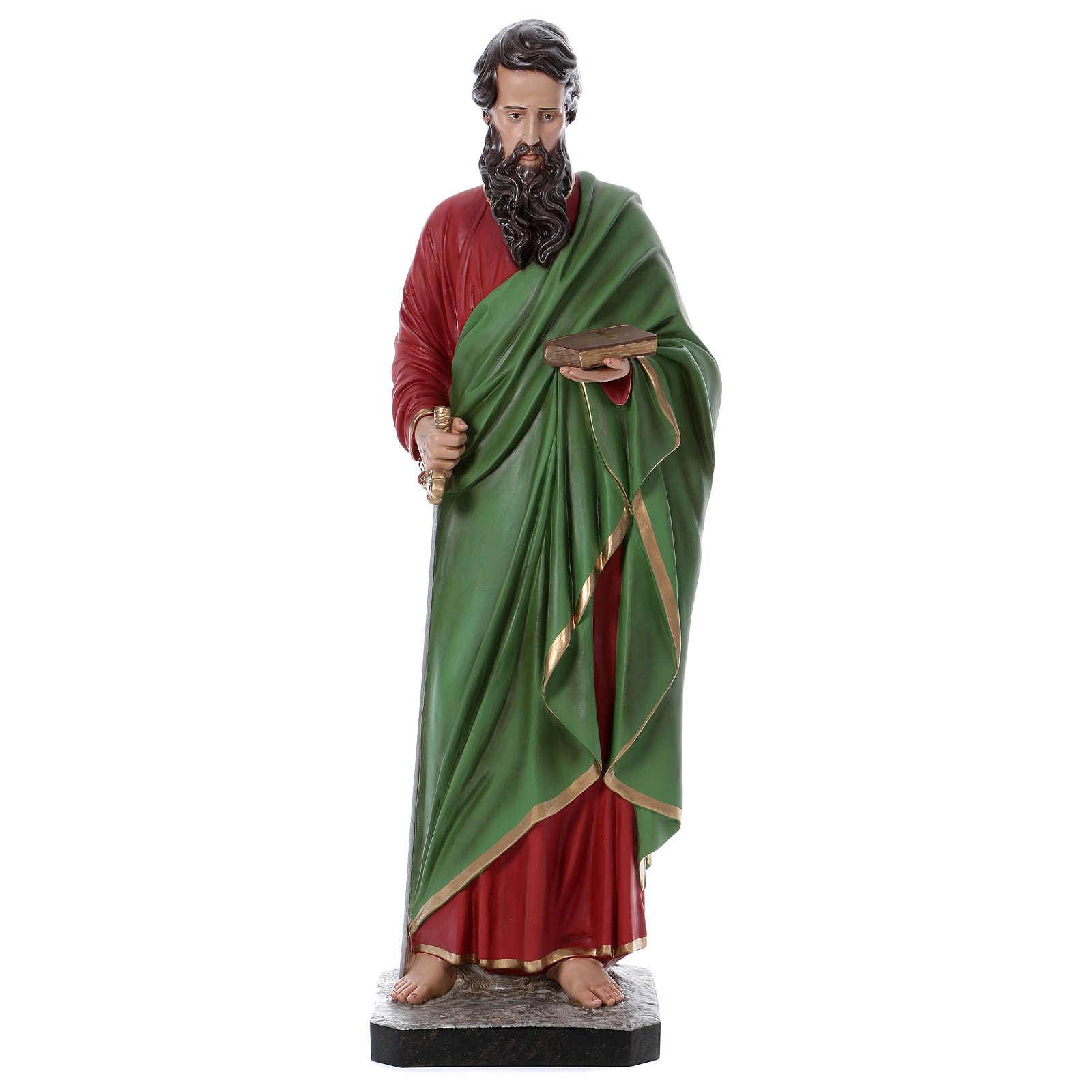 Statua San Paolo 110 cm vetroresina colorata 4
