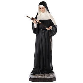 Saint Rita statue 160 cm painted fibreglass with GLASS EYES