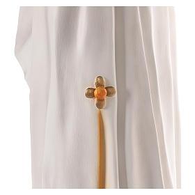 Virgen Medjugorje 170 cm fibra de vidrio pintada ojos vidrio s6
