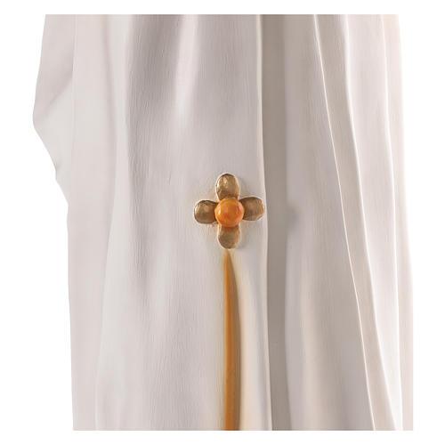 Madonna Medjugorje 170 cm vetroresina dipinta occhi vetro 6