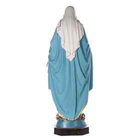 Our Lady of Grace statue 180 cm, in painted fiberglass glass eyes s9