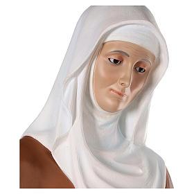 S. Anna con Maria bambina cm 150 vetroresina dipinta occhi vetro entrambi s4