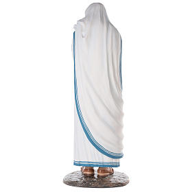Santa Teresa di Calcutta cm 150 vetroresina dipinta occhi vetro s8