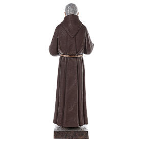 Padre Pio fiberglass statue with glass eyes, 82 cm s8
