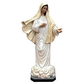 Our Lady of Medjugorje statue 170 cm painted fiberglass s1