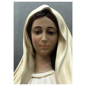 Our Lady of Medjugorje statue 170 cm painted fiberglass s6