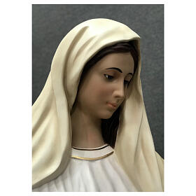 Our Lady of Medjugorje statue 170 cm painted fiberglass s8