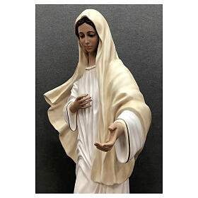 Our Lady of Medjugorje statue 170 cm painted fiberglass s9