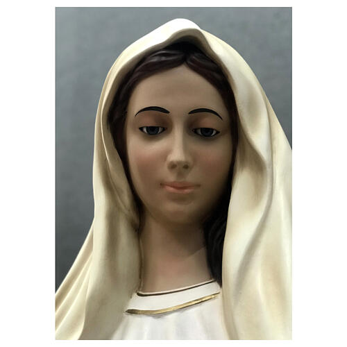 Our Lady of Medjugorje statue 170 cm painted fiberglass 6